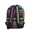 Рюкзак с ярким принтом 9 Рисунков ( Вышивка. Салатовый), фото 4