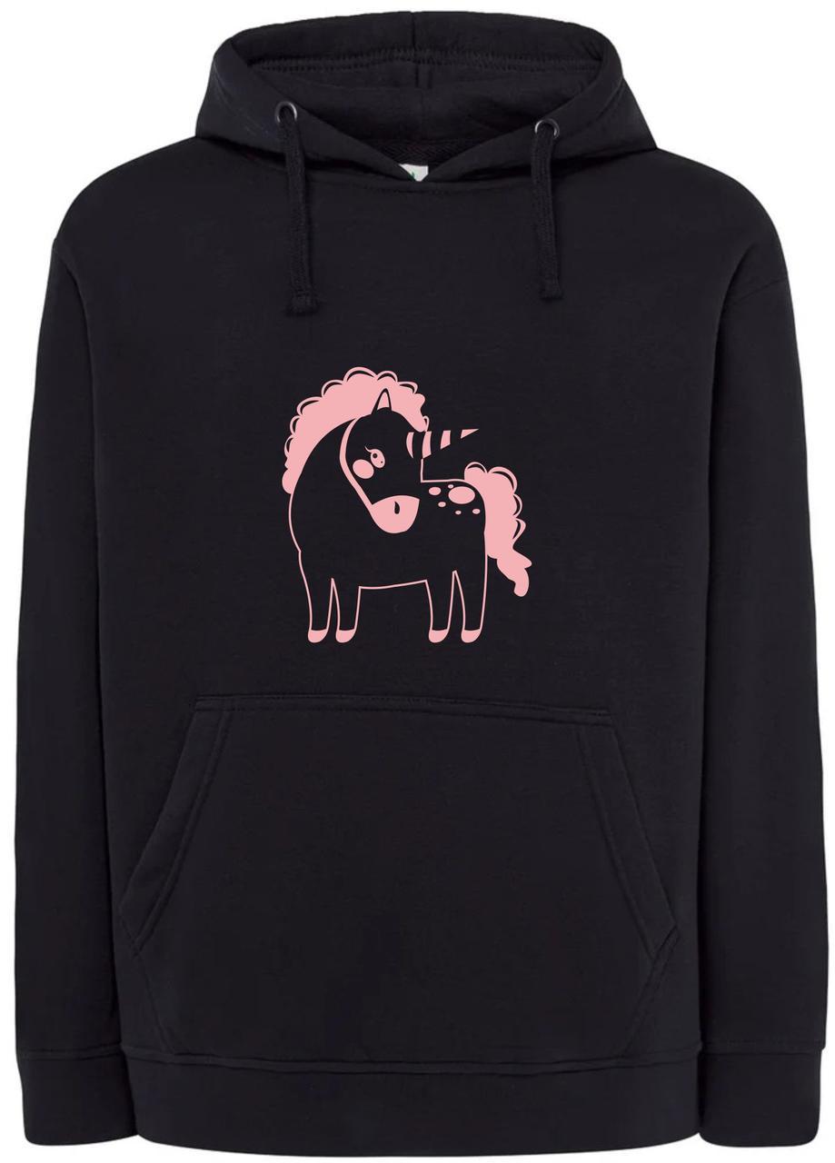 Реглан с капюшоном Magic pony black