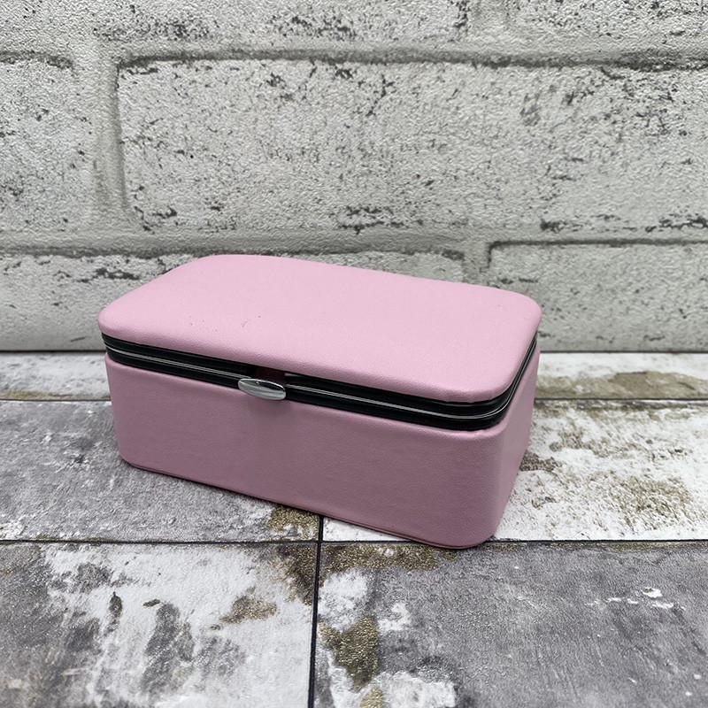 Шкатулка 3 цвета - розовый
