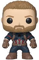 Фигурка Funko Pop Captain America 10 см SUN1410, КОД: 121166
