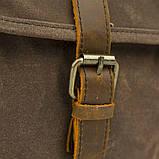 Сумка-портфель на плечо Vintage 20116 Коричневая, фото 8
