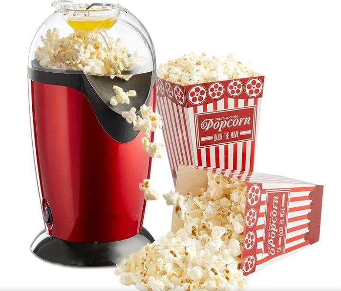 Прибор для приготовления попкорна Popcorn Maker   Автомат для попкорна