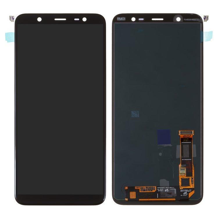 Дисплей (LCD) Samsung J800 Galaxy J8 (2018) | J810 On8 TFT (подсветка оригинал) с тачскрином, черный