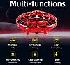 Квадрокоптер UFO | Дрон Летающая тарелка НЛО с Led подсветкой, фото 6