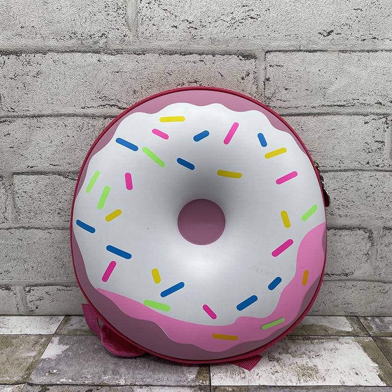 3д рюкзак пончик - розовый