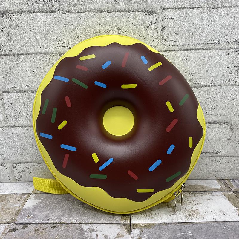 3д рюкзак пончик - желтый