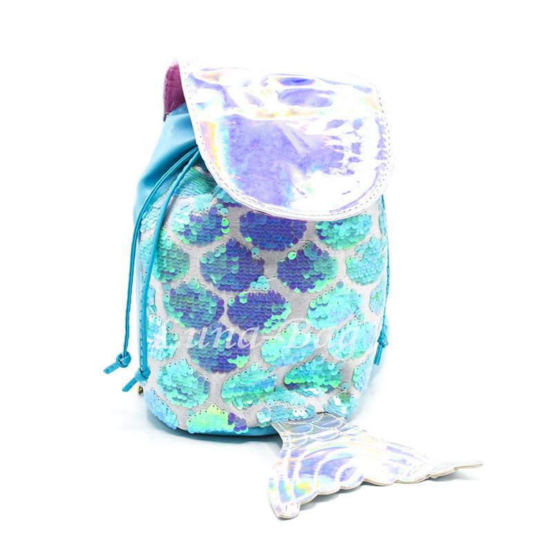 """Рюкзак """"Mermaid"""" 4 Цвета Голубой"""