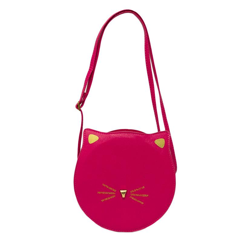 Женская сумка с ушками 3 Цвета  Малиновый