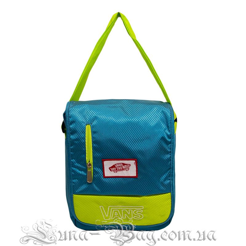 Молодежная сумка через плечо (VANS MINI) 4 Цвета Синий
