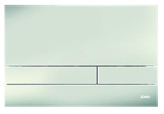 Дзеркало графіт - глянцева скляна кнопка змиву серії Exclusive для інсталяцій Werit