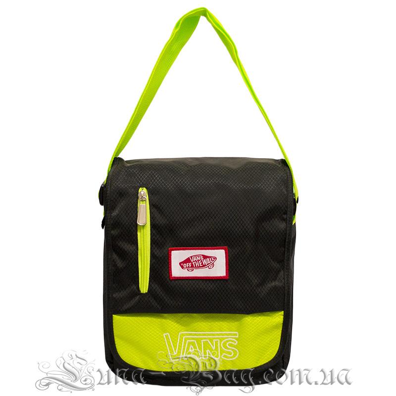 Молодежная сумка через плечо (VANS MINI) 4 Цвета Черный