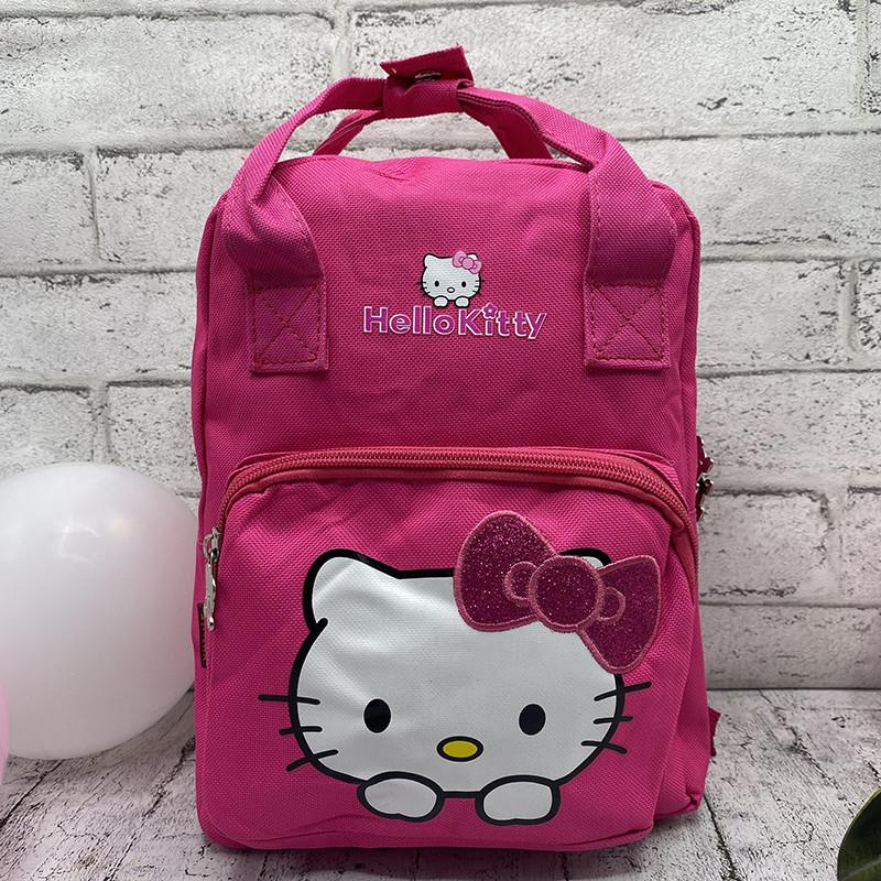"""Детский Рюкзак """"Hello Kitty"""" 3 Цвета Малиновый"""