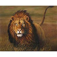 "Картина по номерам 40*50 см ""Царь зверей"", фото 1"