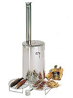Универсальная коптильня Harvia WS100 из нержавеющей стали с хромированными решетками