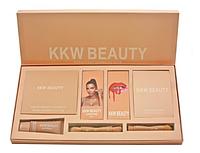 Набор, набір подарунковий Kylie KKW Beauty 7 in 1, Подарок для девушки, Набор косметики Kylie KKW Beauty