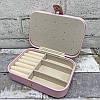 Однотонная шкатулка для украшений.Цвет Розовый, фото 3
