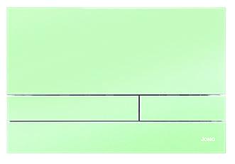 Скляна кнопка змиву м'ятного кольору серії Exclusive для інсталяцій Werit