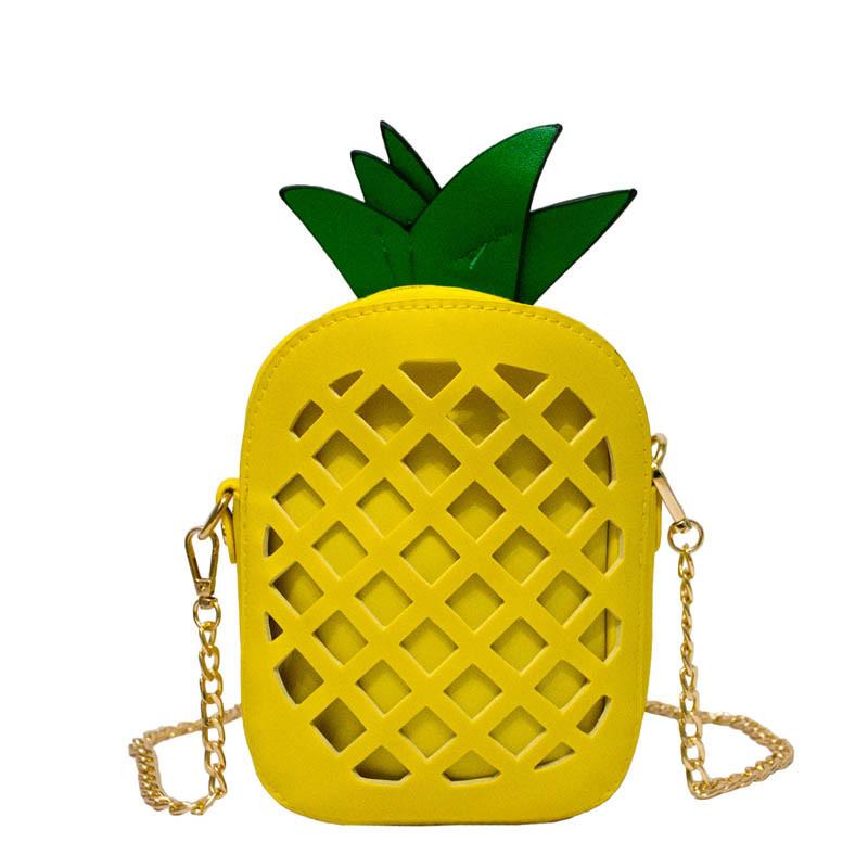 "Сумочка ""Pineapple"" 3 Цвета Желтый ."