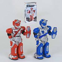 Робот 9893 (36) 2 вида, световые и звуковые эффекты, в коробке