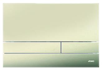 Дзеркальна бронзова скляна кнопка змиву серії Exclusive для інсталяцій Werit