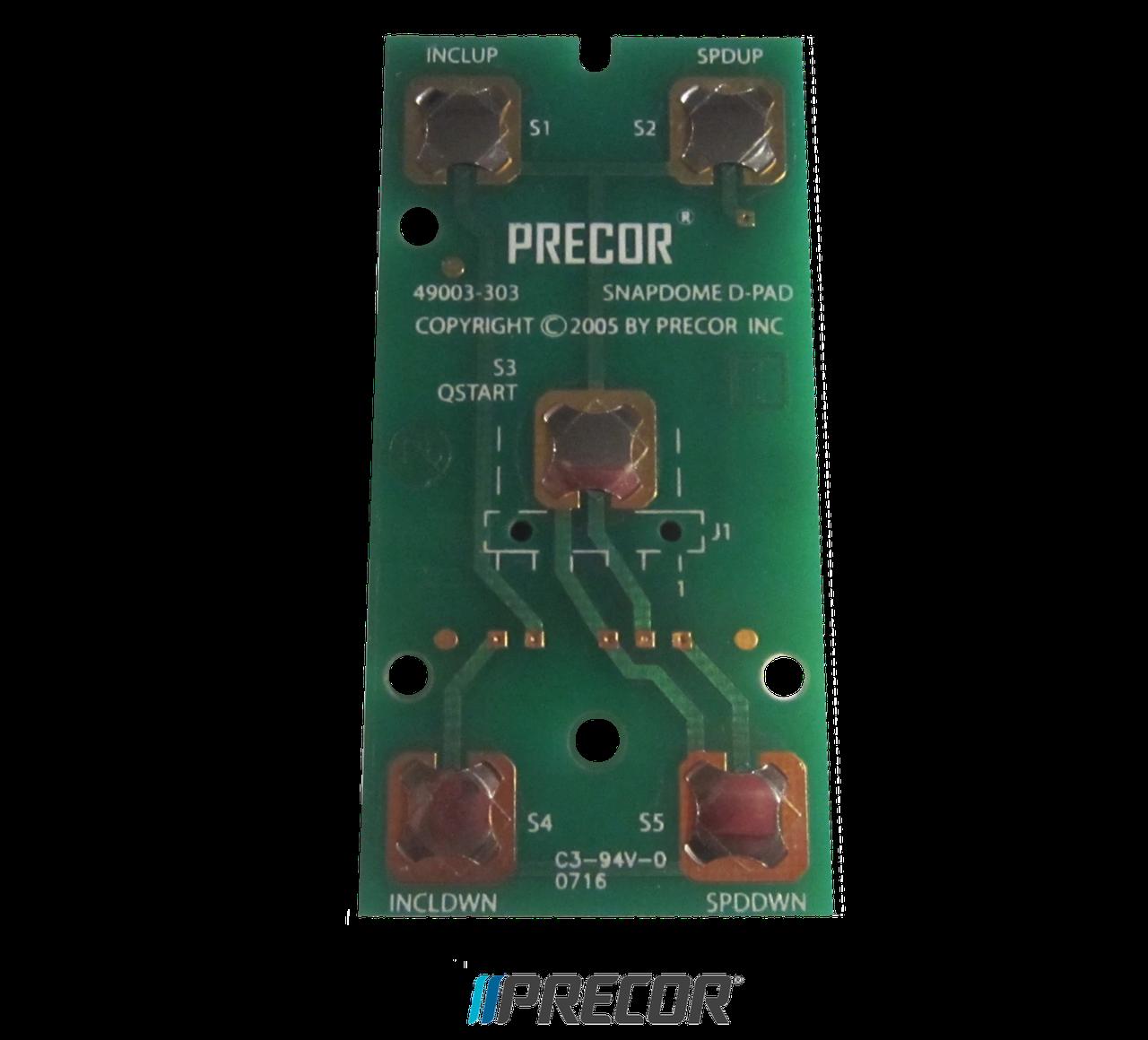 Плата с кнопками управления Precor D-PAD