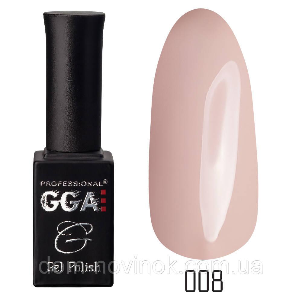 Гель-лак GGA Professional №8,10 мл
