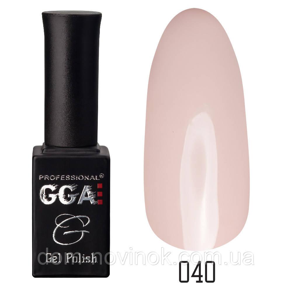 Гель-лак GGA Professional №40,10 мл