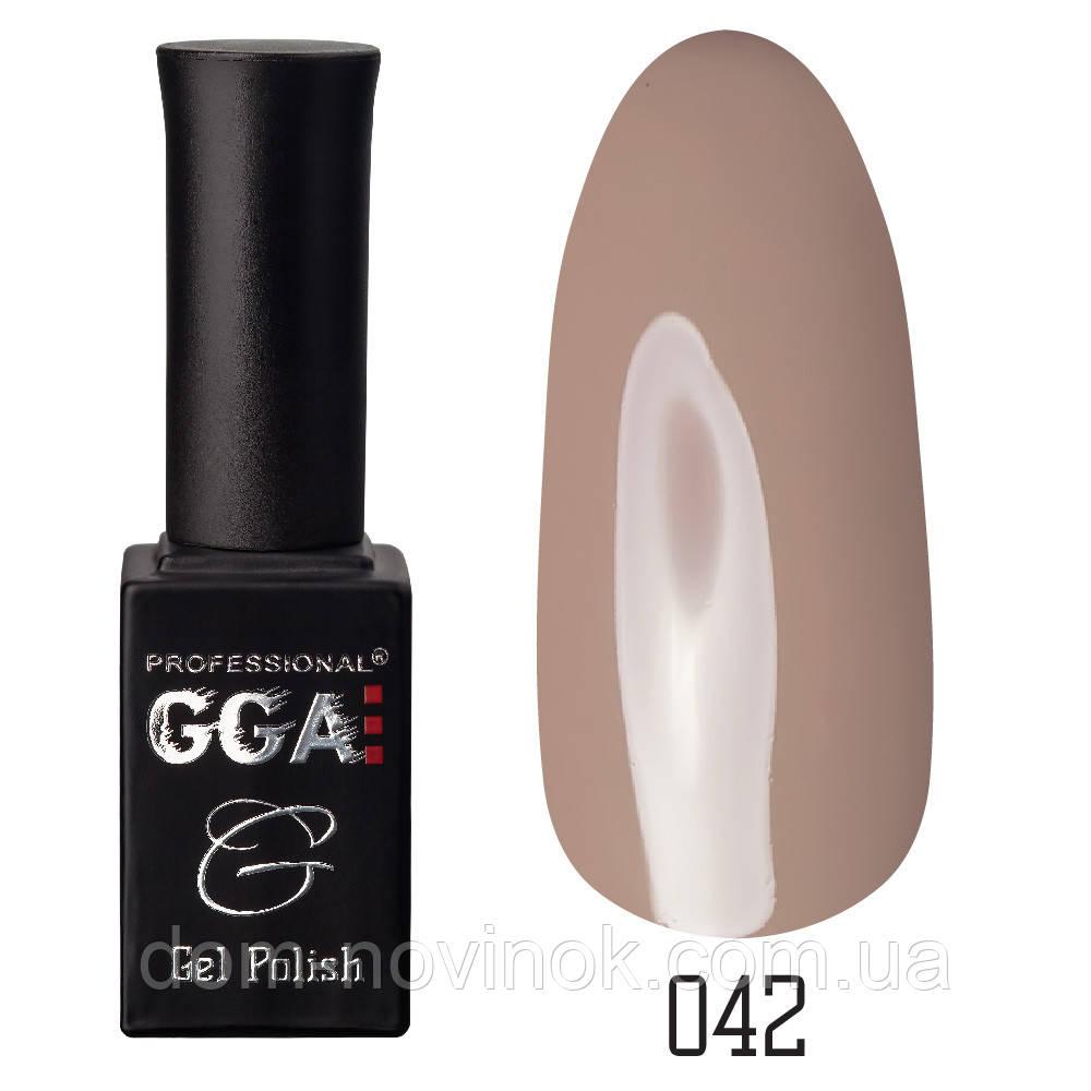 Гель-лак GGA Professional №42,10 мл