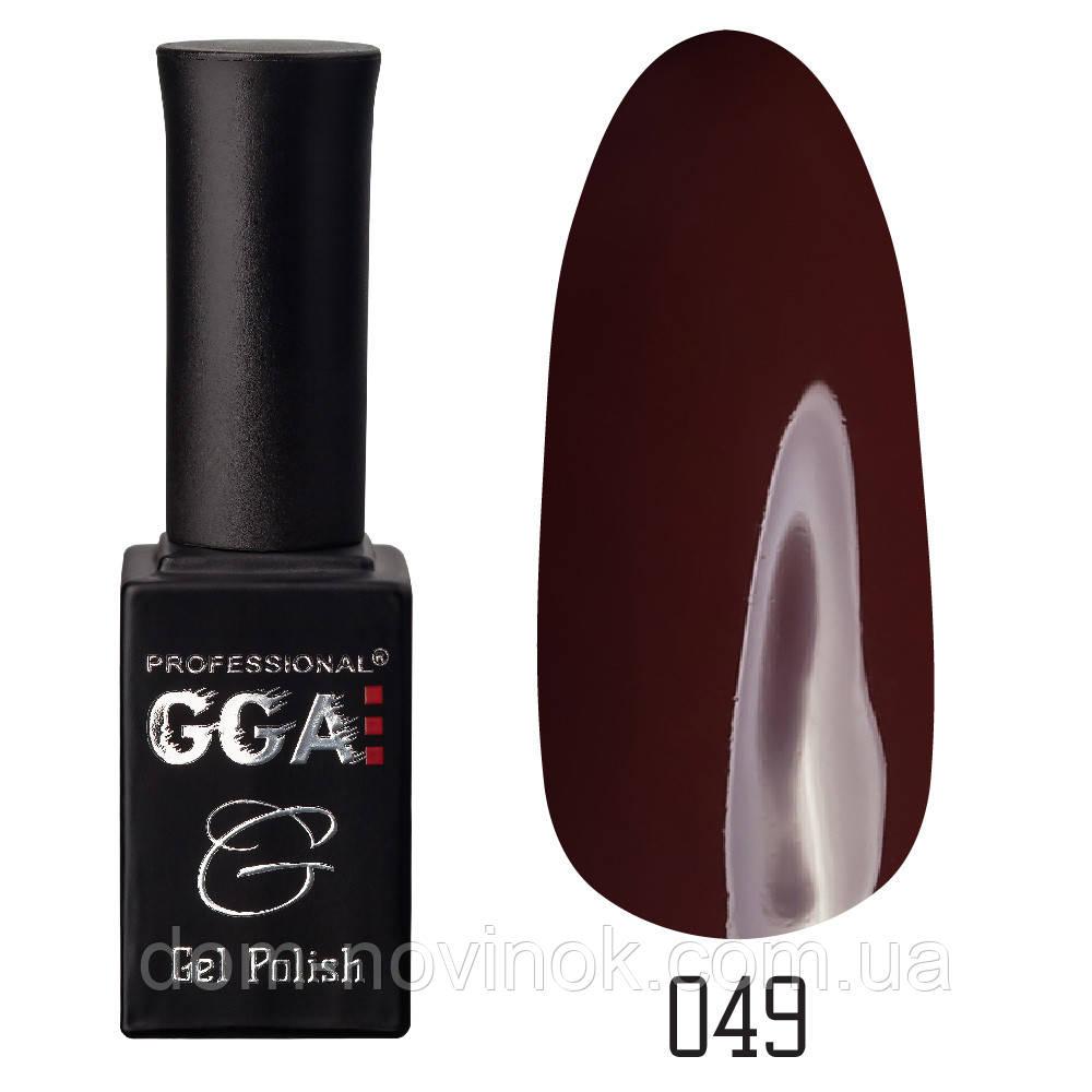 Гель-лак GGA Professional №49,10 мл