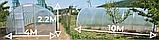 Теплиця «Веган» 4×10 з квадратної оцинкованої труби з плівкою 150 мкм, фото 2