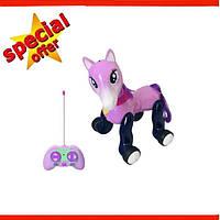 Интерактивная лошадка робот 1031 фиолетовая