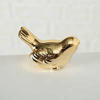 Статуэтка Птица керамика золото l4.5см  1020053, фото 1
