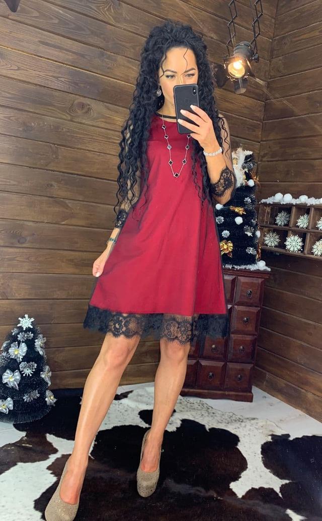 Женское красивое модное нарядное платье.