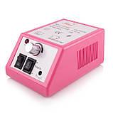 Фрезер для манікюру Lina Mercedes 20000 об/хв (рожевий), фото 3
