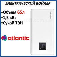 Бойлер 65 литров Atlantic Vertigo Steatite Essential 80 (1500W). Электрический водонагреватель с сухим ТЕНом