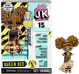 Кукла L.O.L. Surprise! JK ОМГ Королева Пчелка мини Queen Bee Mini Оригинал