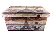 Пуфик Париж 2 приліжковий з ящиком SH31433-456