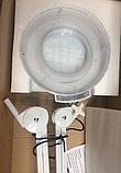 Лампа-лупа настільна з кріпленням T5-LED-S, фото 5