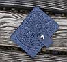 Візитниця ЕТНО синій 8*10.5 см-11-2С