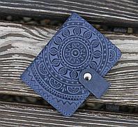 Візитниця ЕТНО синій 8*10.5 см-11-2С, фото 1