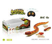 Змея на радиоуправлении 7707 (24) на батарейках, в коробке