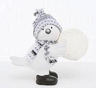 Статуетка птах Тенні з LED підсвічуванням кераміка h12.5см 2002621, фото 1