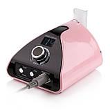 Фрезер для маникюра и педикюра Nail Drill ZS-711 PRO Pink, фото 3