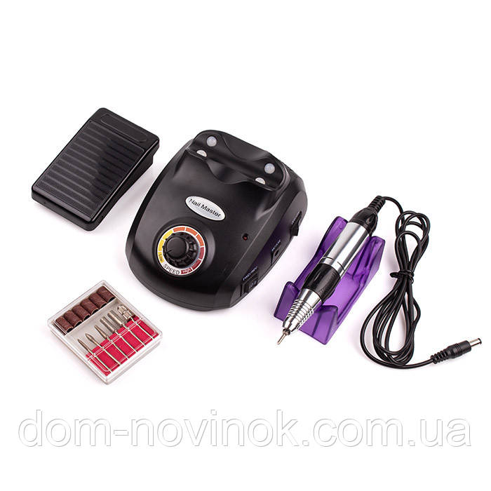 Фрезер для нігтів Nail Drill ZS-603 (Чорний)