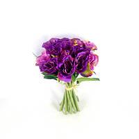 Букет Розочка Садовая 15 голов Ткань 25см 494