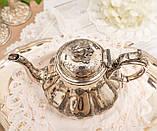 Посріблений англійська заварювальний чайник, сріблення, мельхіор, EPNS Англія, фото 5