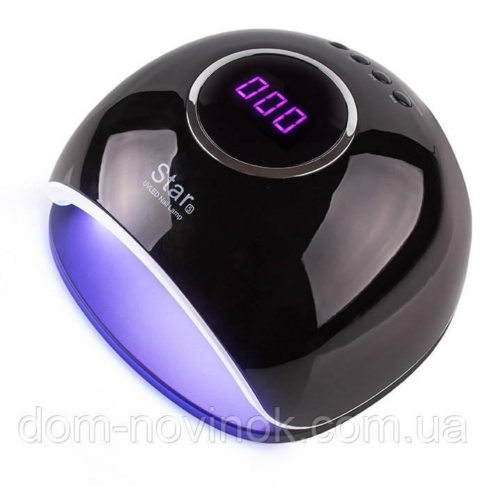 Лампа для ногтей Star 5 UV/LED 72 Вт Black