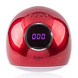 UV/LED Лампа Star 5  72 Вт Red, фото 4