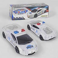 "Машина 5080 Е ""Полиция"" (192/2) свет, звук, в коробке"