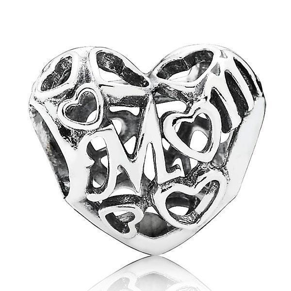 Пандора Ажурный шарм «Материнская любовь» Pandora 791519